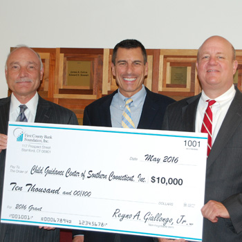 Child Guidance Center of Southern CT receives grant from First County Bank Foundation